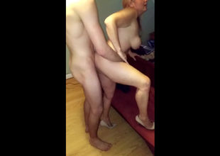 Super-fucking-hot homemade lovemaking..