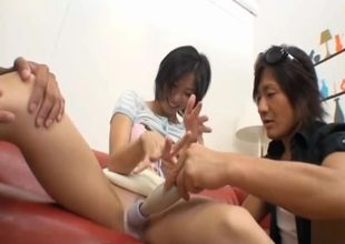 Hump escapade for a Asian housewife