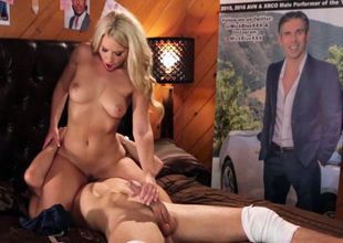 Anikka Albrite rails him and floods..