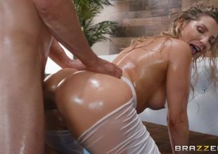 Ashley Fires & Mick Blue in Arching..