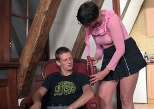 Horny  in law tempts him