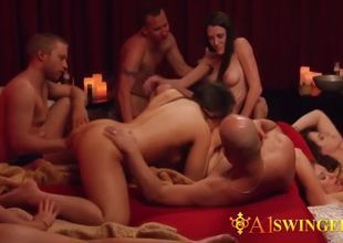 These swinger couples are kinky and..