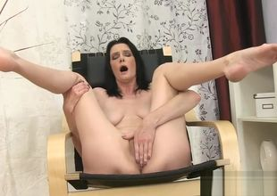 Elderly Step-Mama Laura Dark Wants To..
