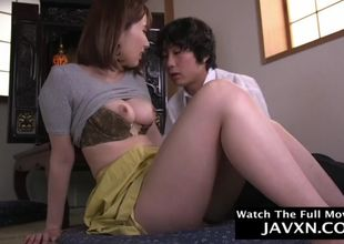 Japanese mother and insatiable stepson