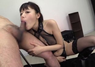 Super hot office fuck-fest as Mao..