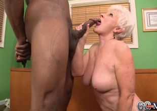 Grannie pleasure button and bbc