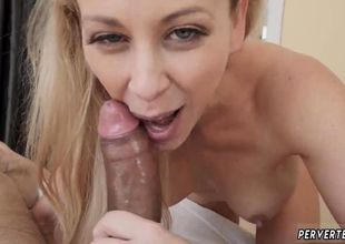 gobble very first time Cherie Deville..