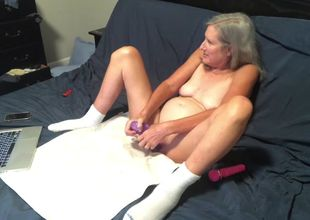 Red-hot Cougar Drains While Husband..