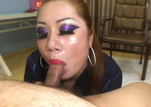 Chinese mother Point of view Oral job